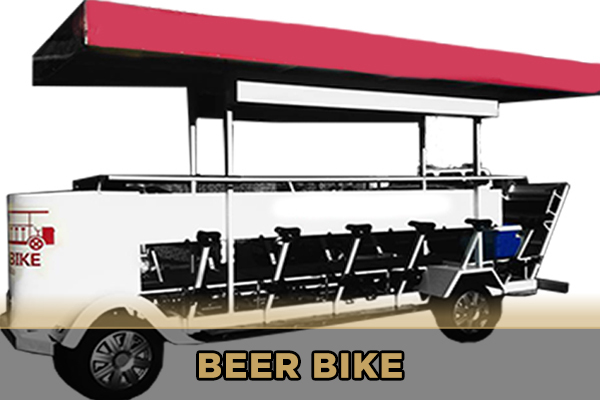 Beer Bike en Sevilla