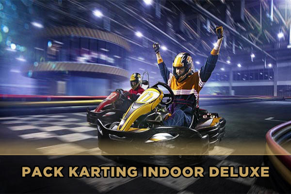 Pack Karting Indoor Deluxe